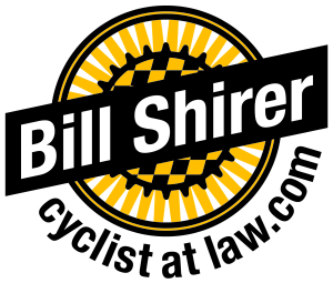 Bill Shirer logo-Cyclist